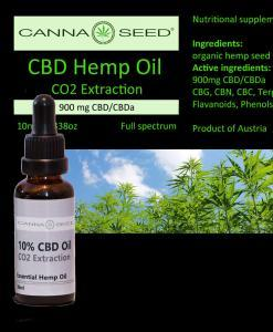 CBD Öl CO2 10ml