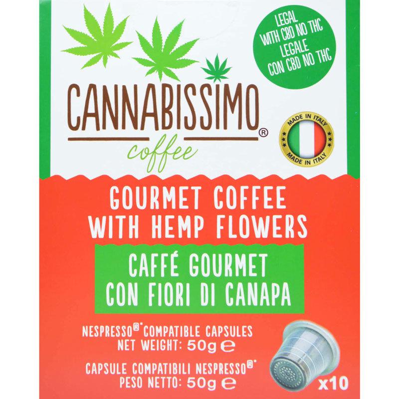 Cannabissimo-CBD-Kaffee-Nespresso-Kapseln